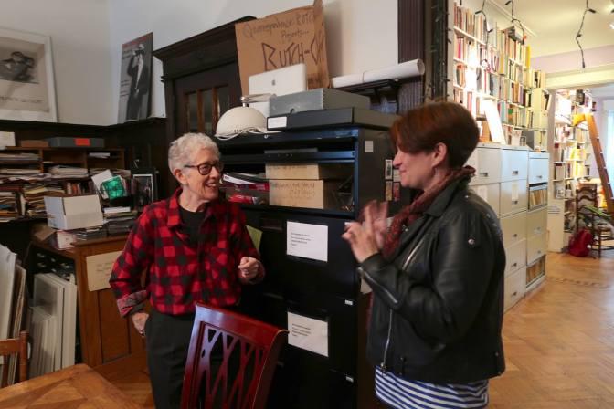 Crónica de mi visita al The Lesbian Herstory Archive.
