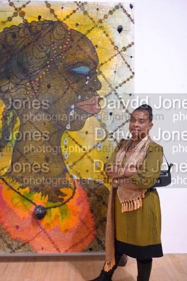 PAINTING: No Woman, No Cry BY CHRIS OFILI; DOREEN LAWRENCE