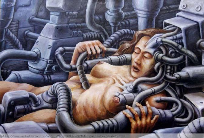 La mujer máquina.
