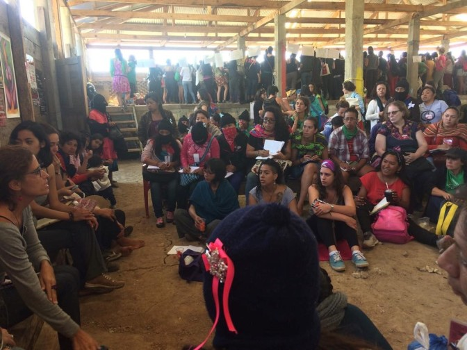 Mi viaje al Primer Encuentro Internacional político, artístico, deportivo y  cultural de mujeres que luchan