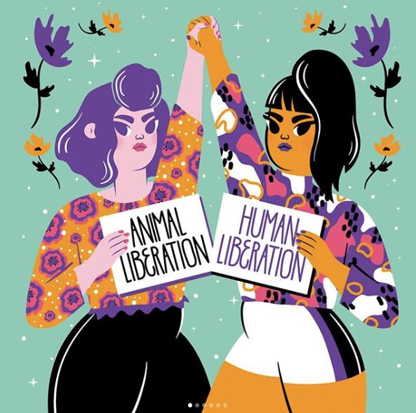 Contra el patriarcado: feminismo antiespecista.